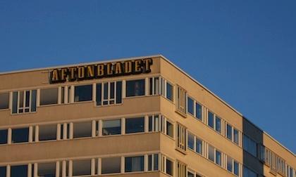 Aftonbladet office.