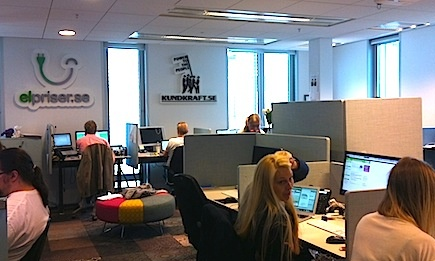 Schibsted's early-stage startups share its Stockholm office.