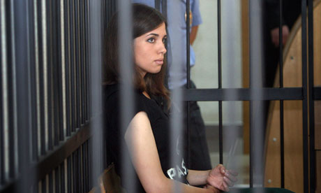 Член Pussy Riot начинает голодовку из-за условий содержания в тюрьмах