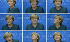 Angela Merkel nine images