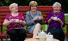May McAleese, Nicola Sturgeon, Margaret Parker 23/9/13
