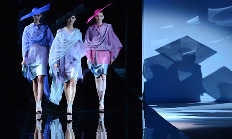 Milan fashion week: household names make space for young talent