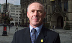 sir richard leese accuses ed balls of cheap shot at hs2