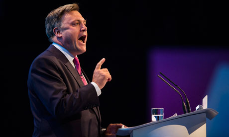 ed balls labour conference diary