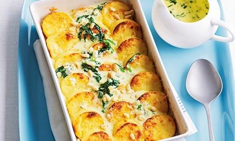 Anna Gare's family recipes: Semolina gnocchi with blue Castello and ...