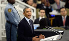 UN general assembly: Obama repeats call for action against Syria  – live