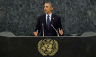 Barack Obama addresses the 68th United Nations General Assembly in New York