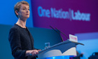 Shadow home secretary Yvette Cooper at the Labour conference