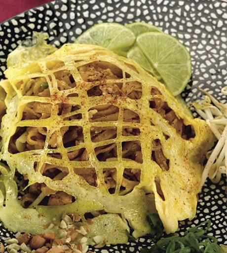 Vegetarian Pad Thai Recipe — Dishmaps
