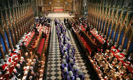Westminster Abbey Host Annual Service For Judges