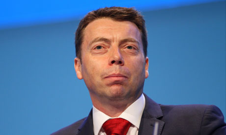 Iain McNicol Labour conference