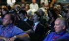 Labour conference delegates yawn