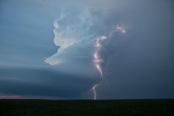 """美国极端天气飓风季节的追风""""捕影 """"(图) - 月落台阁 - 月落台阁"""