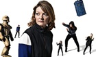 Doctor Who companions: 80s & 90s composite