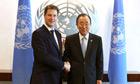 Nick Clegg, Ban Ki-moon