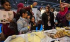 A cheese stall at the Halal Food Festival at Excel.