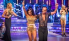 Janette Manrara and Julien Macdonald on the Strictly launch show