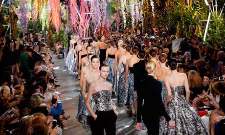 Dior at Paris fashion week