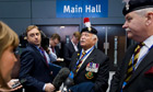 Ex-colonels of Royal Fusiliers at Tory party conference