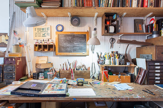 interior design ideas illustrator oliver jeffers 39 new york home in pictures life and style. Black Bedroom Furniture Sets. Home Design Ideas