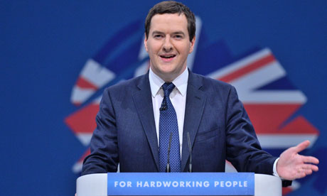 George Osborne, Chancellor of the Exchequer