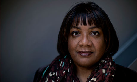 Diane Abbott: 'Labour needs to be wary of taking the BME vote for granted.'