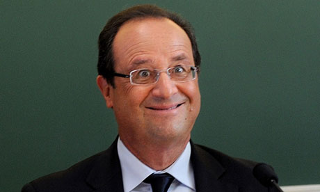Decision to withdraw unflattering photo of François Hollande is criticised News agencies find themselves in self-censorship row after removing picture of the French president grinning