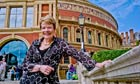 Marin Alsop outside the Royal Albert Hall in London