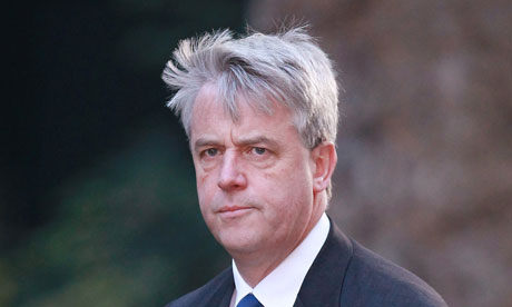 Lobbying bill Andrew Lansley