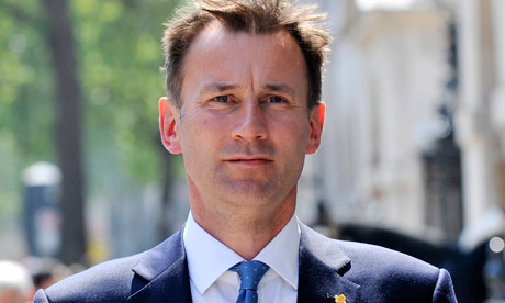 Jeremy Hunt warns tough for hospitals to meet a&e targets