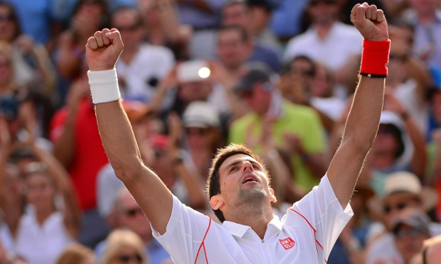 Novak Djokovic US Open 2013 semi