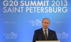 Vladimir Putin at the G20 Summit