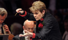 Marin Alsop conducting Last Night of the Proms