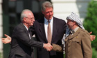 Israel and Palestine reach historic agreement: From the archive, 10 September 1993