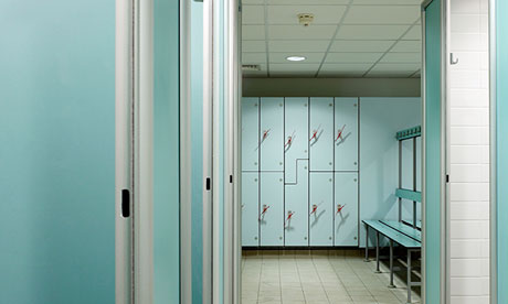 Swimming pool changing rooms: share your horror stories Is it the smell, the mouldy showers or the nightmare associated with simply putting things in and taking things out of lockers that drives you round the bend?