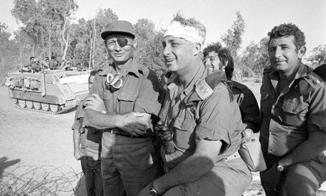 O militar Sharon