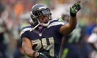 Marshawn Lynch points the way for Seattle. Will the Seahawks get to the Super Bowl?