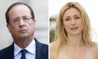Francois Hollande and Julie Gayet