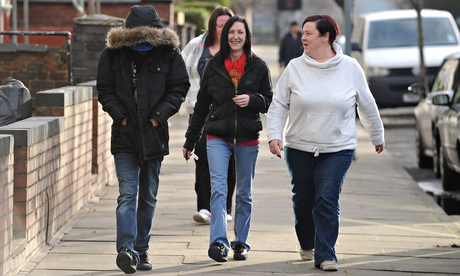 White Dee and others from Benefits Street