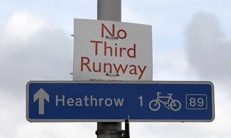 Heathrow runway protest