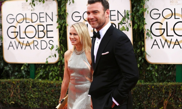Actors Naomi Watts and Liev Schrieber