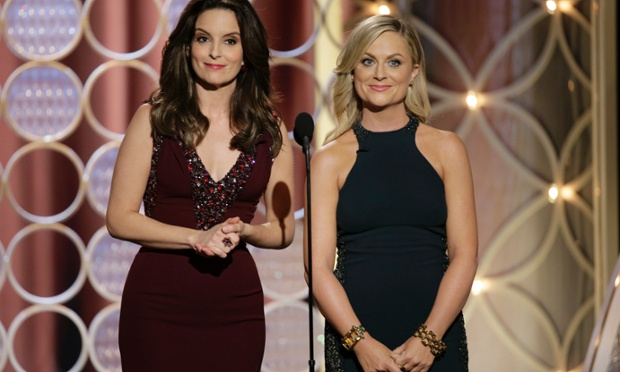 tina amy golden globes