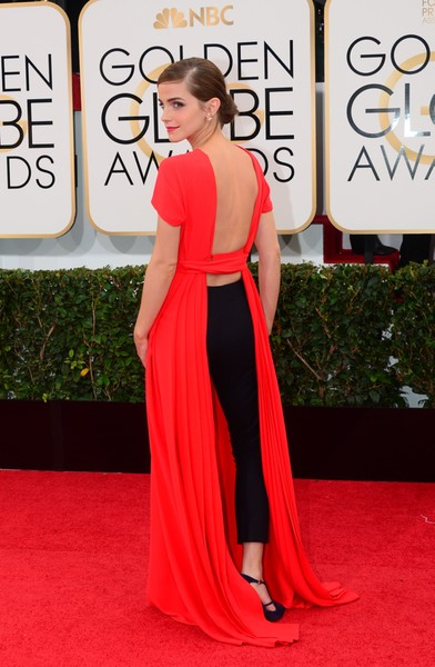 Golden Globes fashion 13: Emma Watson