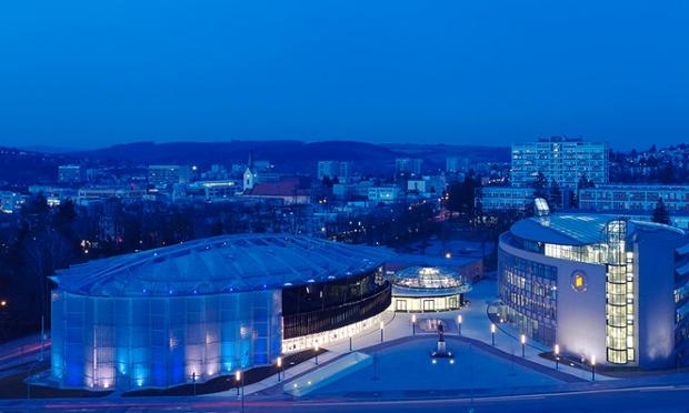Eva Jiricna, Cultural Centre and Tomas Bata University complex
