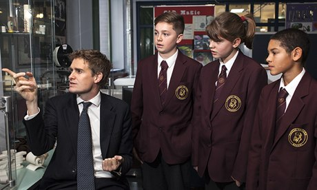 Labour Education shadow secretary Tristram Hunt