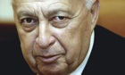 Ariel Sharon in December 2003