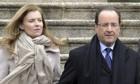 Valérie Trierweiler and François Hollande