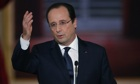 French President Francois Hollande press conference