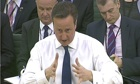 David Cameron at liasion select committee
