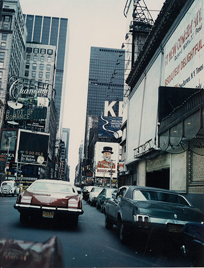 Burroughs: William S. Burroughs, Midtown Manhattan, 1965